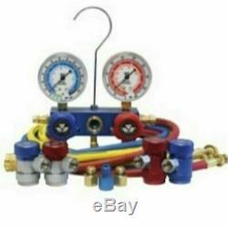 Mastercool 89661-AYF Dual Aluminum 134A and 1234YF manifold gauge set NEW