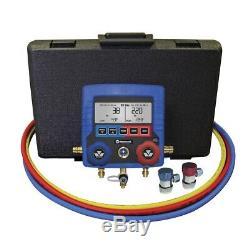 Mastercool 99872-A Digital R134a AC Manifold Gauge Set With Vehicle Data