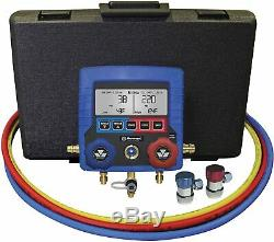 Mastercool Blue 99872-A R134a Intelligent Digital Manifold Gauge Set New USA