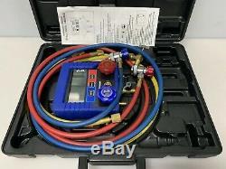 Mastercool Digital R134a A/C Manifold Gauge Set With Hoses 99860