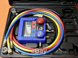 Mastercool Digital R134a A/C Manifold Gauge Set With Hoses 99872
