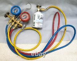 Matco Professional R134a Manifold Gauge Set A/C Auto AC