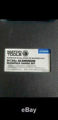 Matco Tools R134a ALUMINUM MANIFOLD GAUGE SET