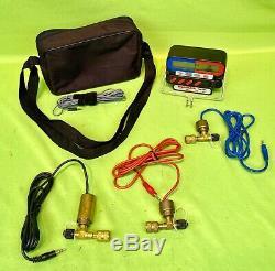 Mint Robinair 41875 Electronic Manifold Gauge Set with R22 Key