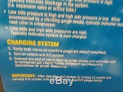 New SUPERCOOL R1234yf Mechanical Manifold Gauge Set, Type Auto, 37520-PC