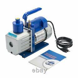 Orion Motor Tech 4.8CFM Vacuum Pump & Manifold Gauge Set A/C HVAC Refrigera