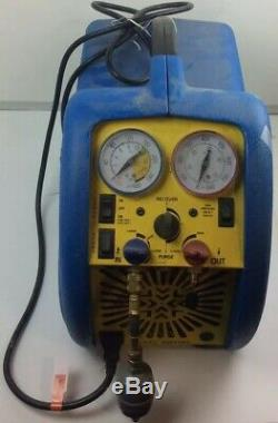 Promax RG5410EX Refrigerant Recovery Machine w pwr cord, and Manifold Gauge Set