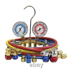R1234yf/R134a Brass Manifold Gauge Set MSC-66661-AYF Brand New
