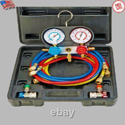 R134A A/C Manifold Gauge Set Service Automotive Air Conditioning System Tool NEW