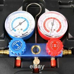 R134A R12 R22 HVAC A/C Refrigeration Charging Manifold Gauge Diagnostic Kits Set