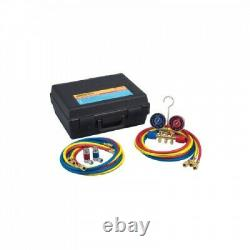 Robinair 44150 Dual AC R12 and R-134a Manifold Gauge Set. Shipping is Free