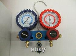 Snap-On ACTR4151A R134a 2-Way A/C Manifold Gauge Set with Hoses
