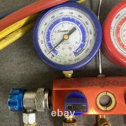 Snap On ACTR5134A Charging & Testing Manifold Premier Series Gauge Set