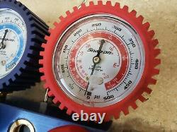 Snap-On AC Manifold Gauge Set Pre-owned Free Shipping