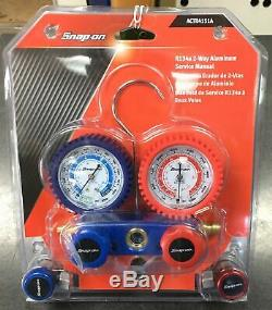 Snap-on AC Manifold Gauge Set ACTR4151A (NEW)