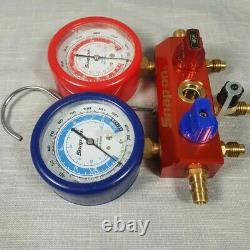 Snap-on R134A R12 Dual Manifold Gauge Set (ACT51234A)