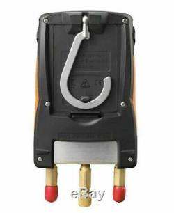 Testo 550 Refrigeration Meter Digital Manifold Bundle 2 Clamps Probes & Case Set
